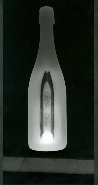 Thorsten Heinze, Flasche, 2014, Photogram